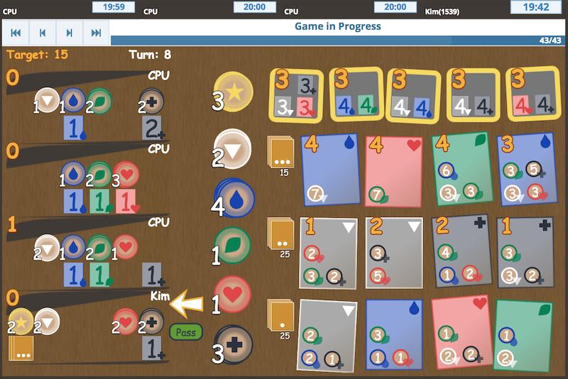 Spendee Inspired By Splendor Online Board Game